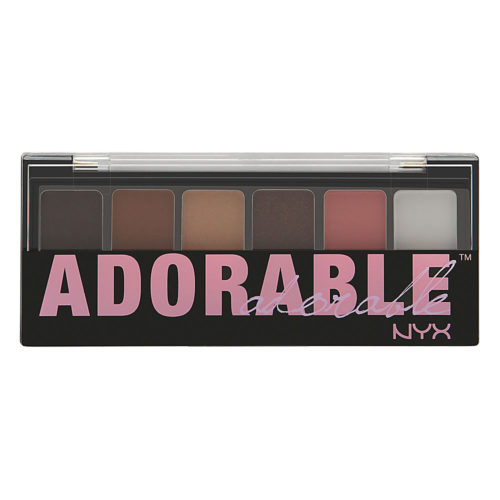 NYX Cosmetics The Adorable Shadow Palette