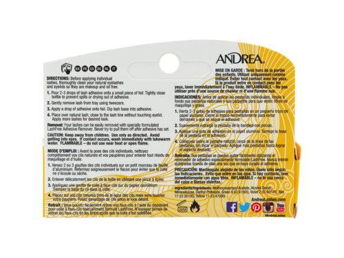 Andrea Permalash Adhesive for Individual Lashes - Dark