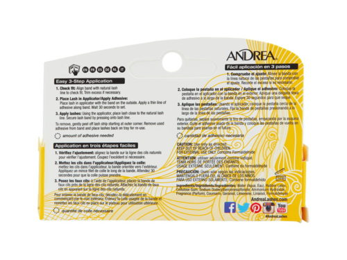 Andrea Lash Adhesive for Strip Lashes - Clear