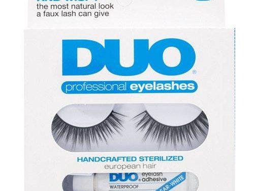 Duo Professional Eyelashes with Adhesive