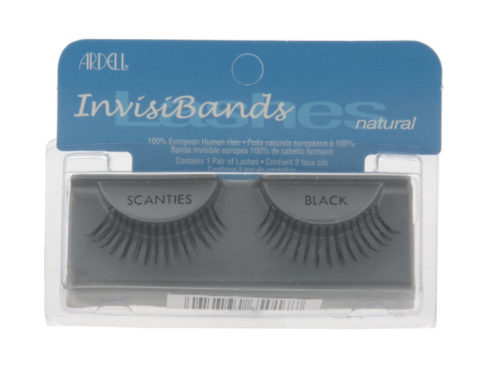 Ardell InvisiBands Lashes Natural - Scanties Black