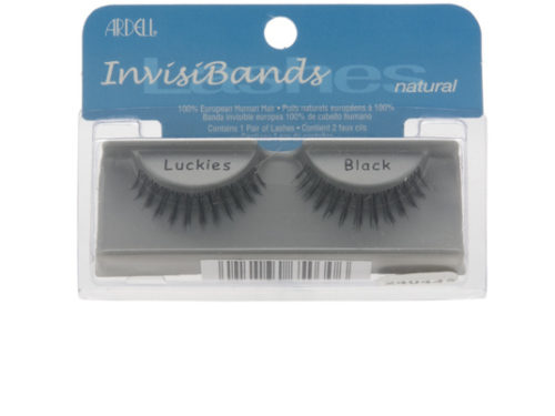 Ardell InvisiBands Lashes Natural - Luckies Black