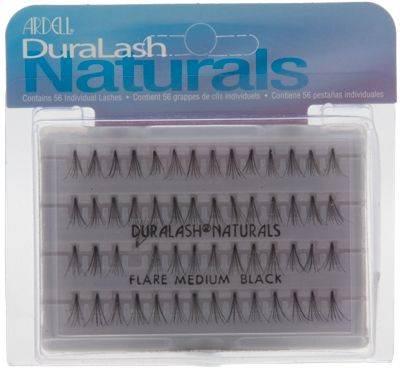 Ardell DuraLash Naturals - Flare Medium Black