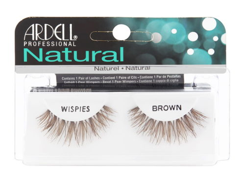 Ardell InvisiBands Lashes Glamour - Wispies Brown