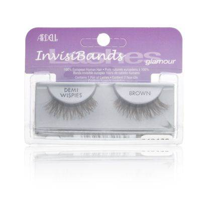 Ardell InvisiBands Lashes Natural - Demi Wispies Brown