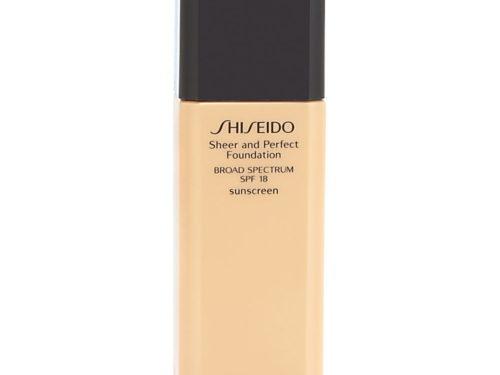 Shiseido Sheer and Perfect Foundation SPF 18