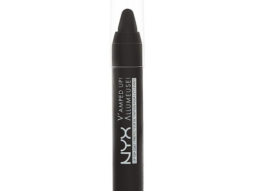 NYX Cosmetics V'amped Up! Lip Top Coat Black