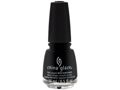 China Glaze Paint It Black Halloween 2018 Collection Nail Lacquer