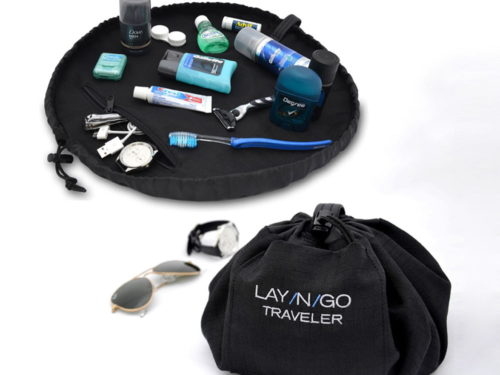 Lay-n-Go Traveler 20 Inch Men's Dopp Kit