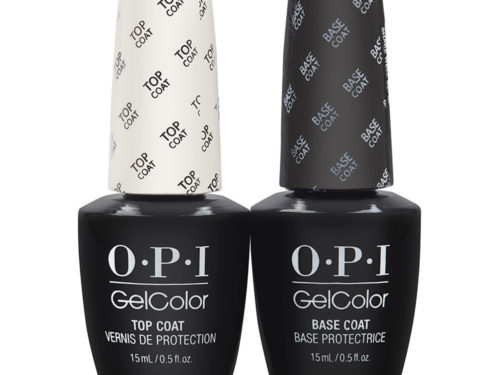 OPI GelColor Soak Off Top and Base Coat Duo