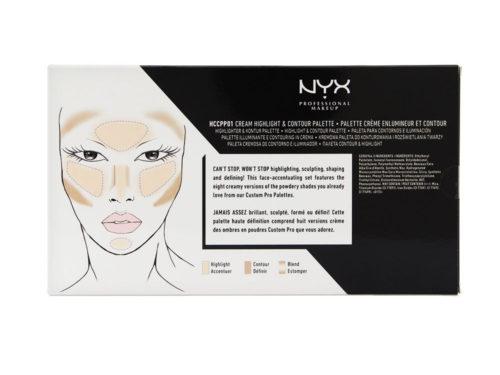NYX Cosmetics Highlight & Contour Cream Pro Palette