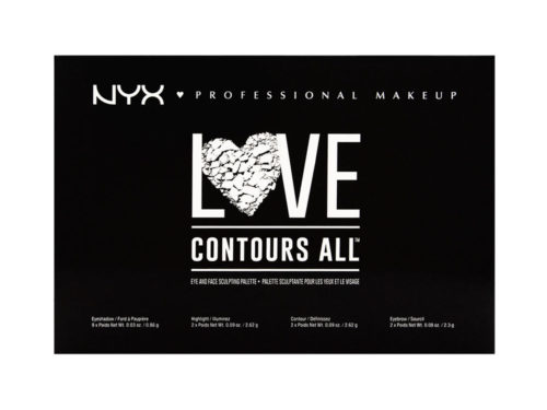 NYX Cosmetics Love Contours All Palette
