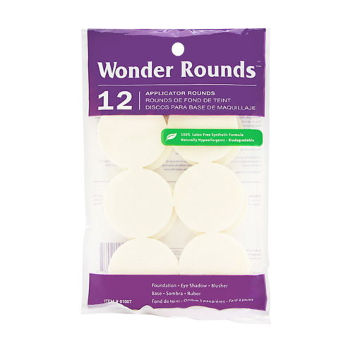 Wonder Rounds Cosmetic Puffs #1007