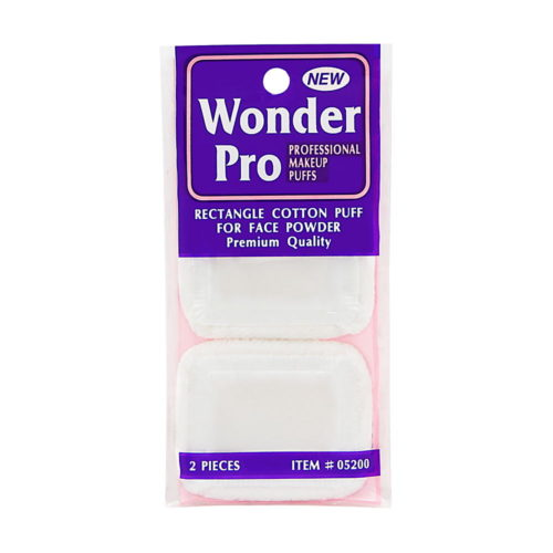 Wonder Pro Rectangle Cotton Puff For Face Powder