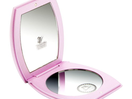 Danielle Pink Compact (Square)