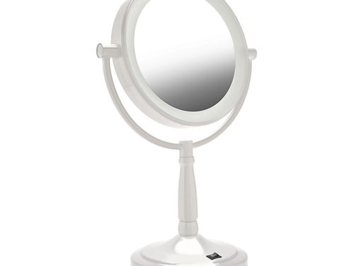 Zadro LED Lighted Round Vanity Mirror (1X/10X)