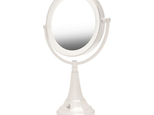 "Zadro Round Vanity Mirror LED Lighted 18"" (1x/10x)"