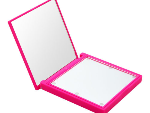 Flo LED Lights Compact Mirror