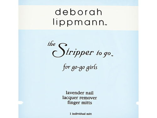 Deborah Lippmann The Stripper to Go for Go-Go Girls Lavender Nail Lacquer Remover Finger Mitts