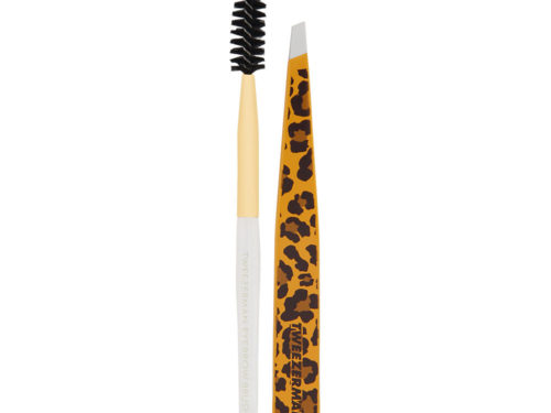 Tweezerman Slant Tweezer - Leopard