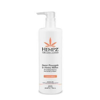 Hempz Sweet Pineapple and Honey Melon Smoothing Creamy Herbal Body Wash