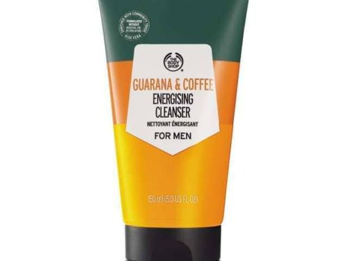 The Body Shop Guarana And Coffee Energizing Cleanser For Men