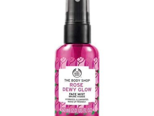The Body Shop Rose Dewy Glow Face Mist