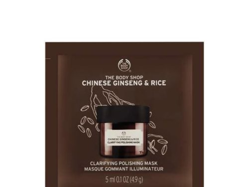 The Body Shop Chinese Ginseng & Rice Clarifying Polishing Mask Packette