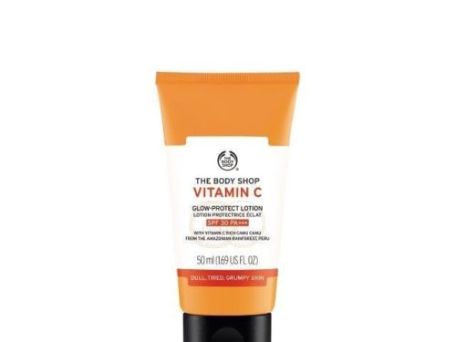 The Body Shop Vitamin C Glow-protect Lotion Spf 30