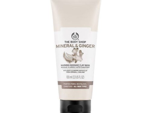 The Body Shop Mineral And Ginger Warming Massage Clay Mask