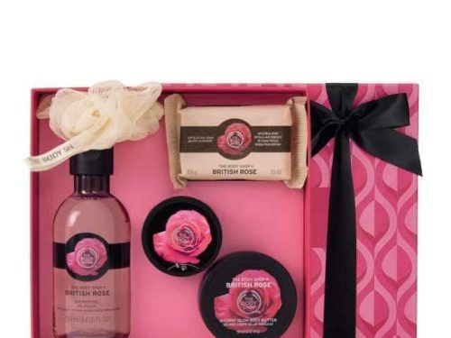 The Body Shop British Rose Essential Selection
