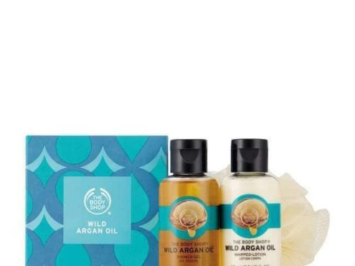 The Body Shop Wild Argan Oil Treats