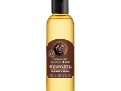 The Body Shop Coconut Oil Brilliantly Nourishing Pre-shampoo Hair Oil