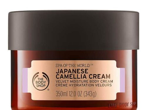 The Body Shop Spa Of The World Japanese Camellia Cream