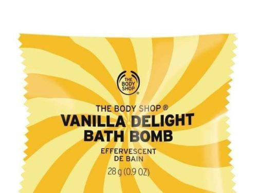 The Body Shop Vanilla Delight Bath Bomb