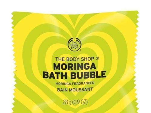 The Body Shop Moringa Fragranced Bath Bubble