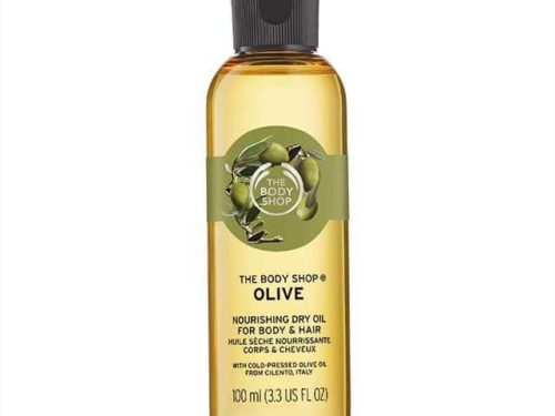 The Body Shop Olive Nourishing Dry Oil For Body And Hair