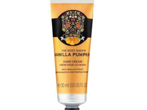 The Body Shop Vanilla Pumpkin Hand Cream