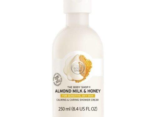 The Body Shop Almond Milk & Honey Shower Cream