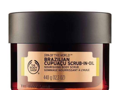 The Body Shop Spa Of The World Brazilian Cupuaçu Exfoliating Scrub-in-oil