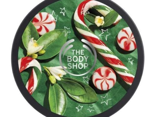 The Body Shop Peppermint Candy Cane Body Butter
