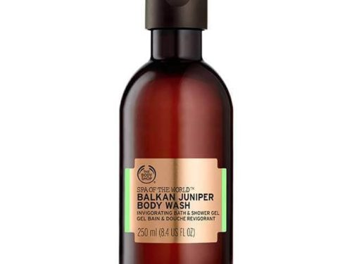 The Body Shop Spa Of The World Balkan Juniper Body Wash