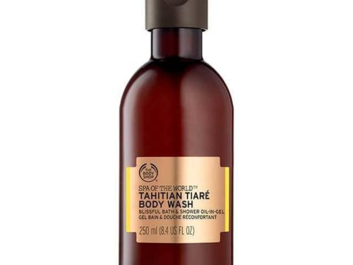 The Body Shop Spa Of The World Tahitian Tiaré Body Wash