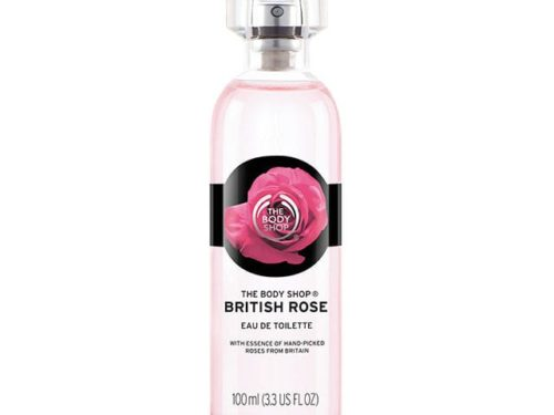 The Body Shop British Rose Eau De Toilette