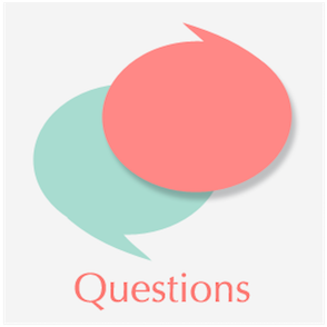 Picture of two conversation bubbles