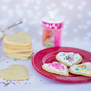 Picture of a plate with cookies
