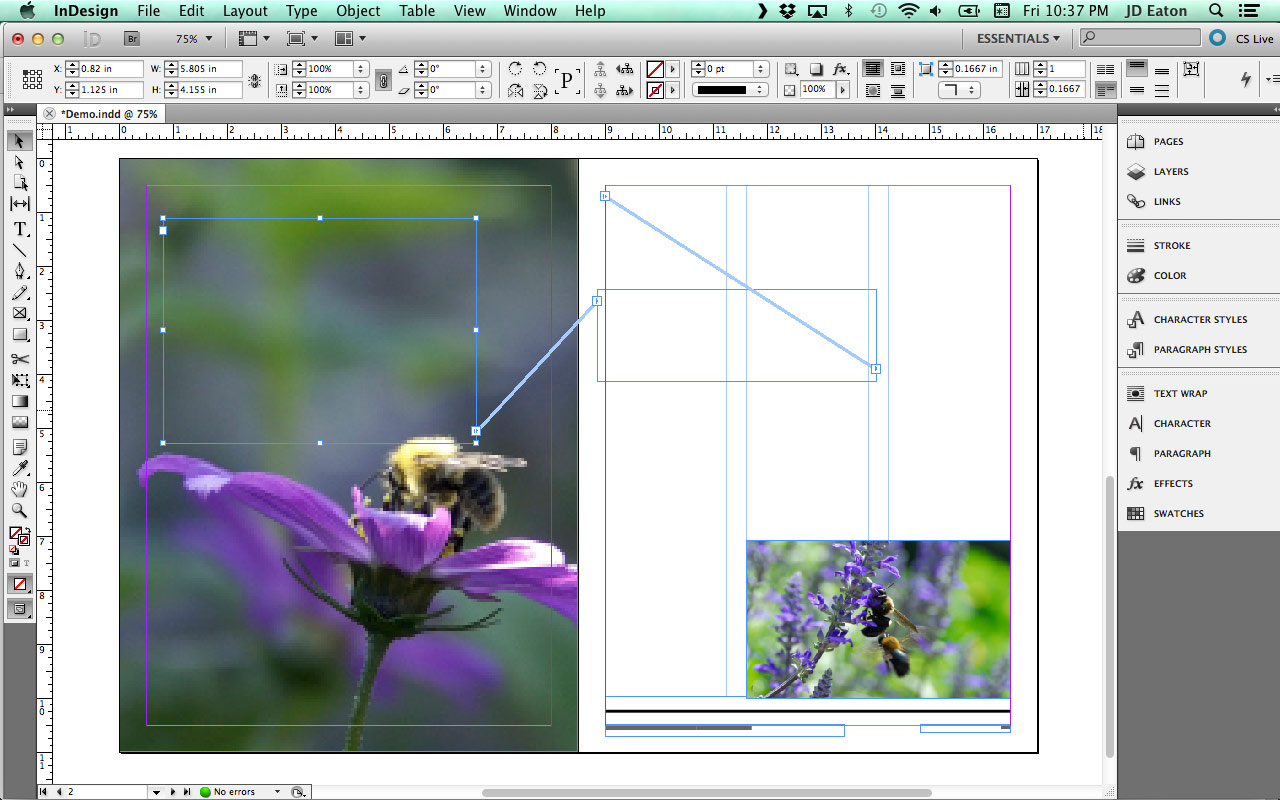 how to export indesign file to pdf