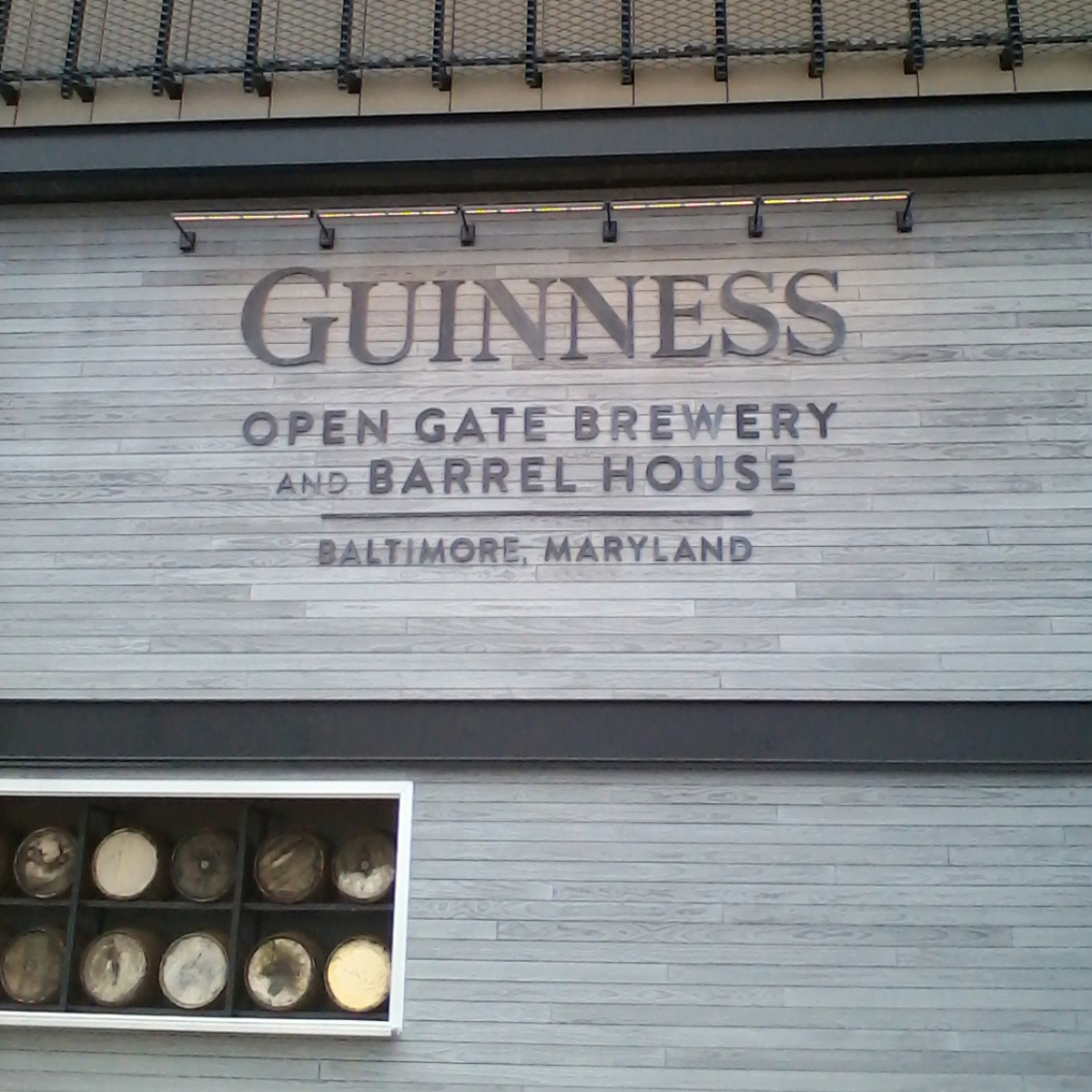 Guiness Open Gate Baltimore