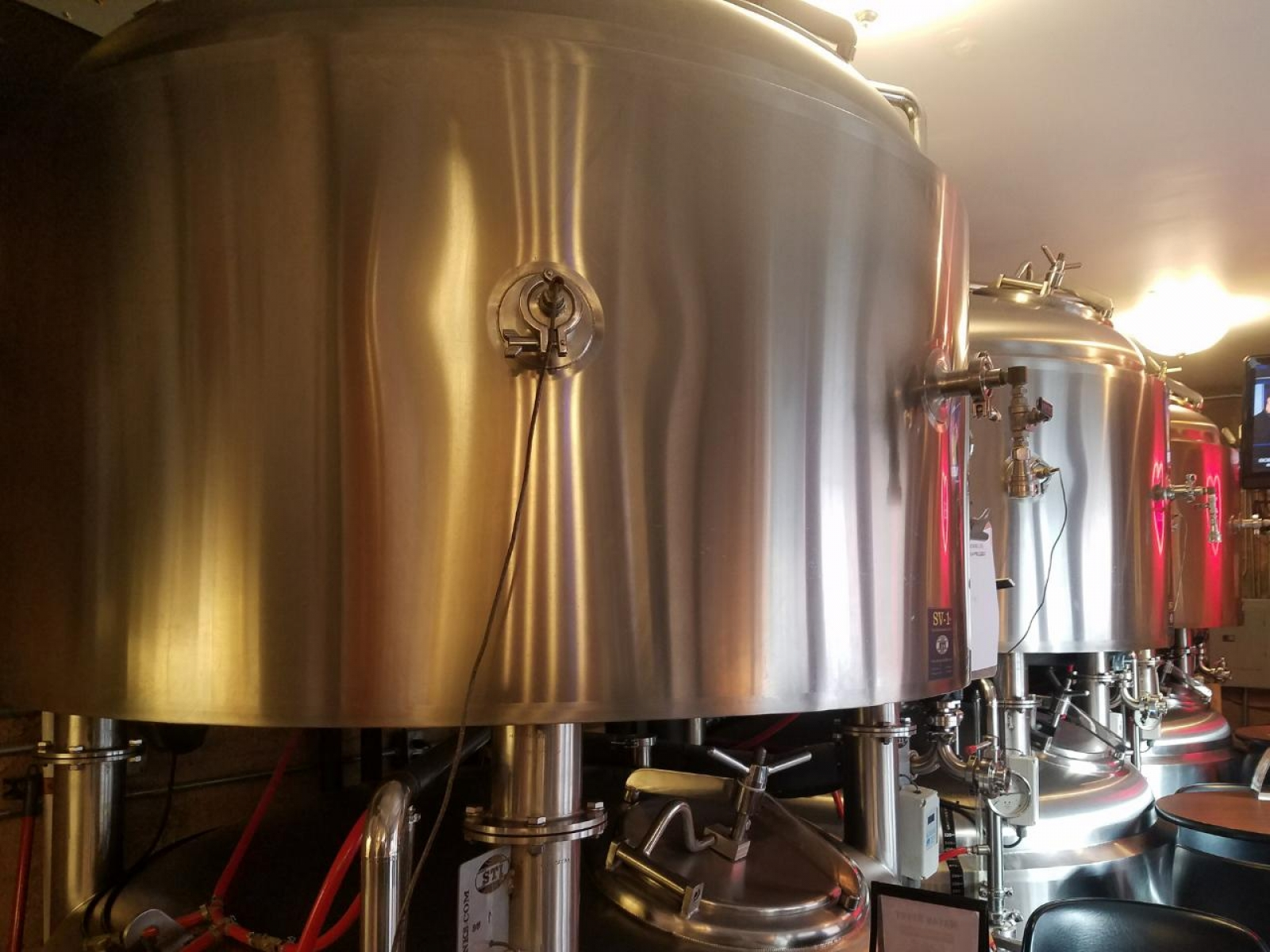 Fermenter by tap room
