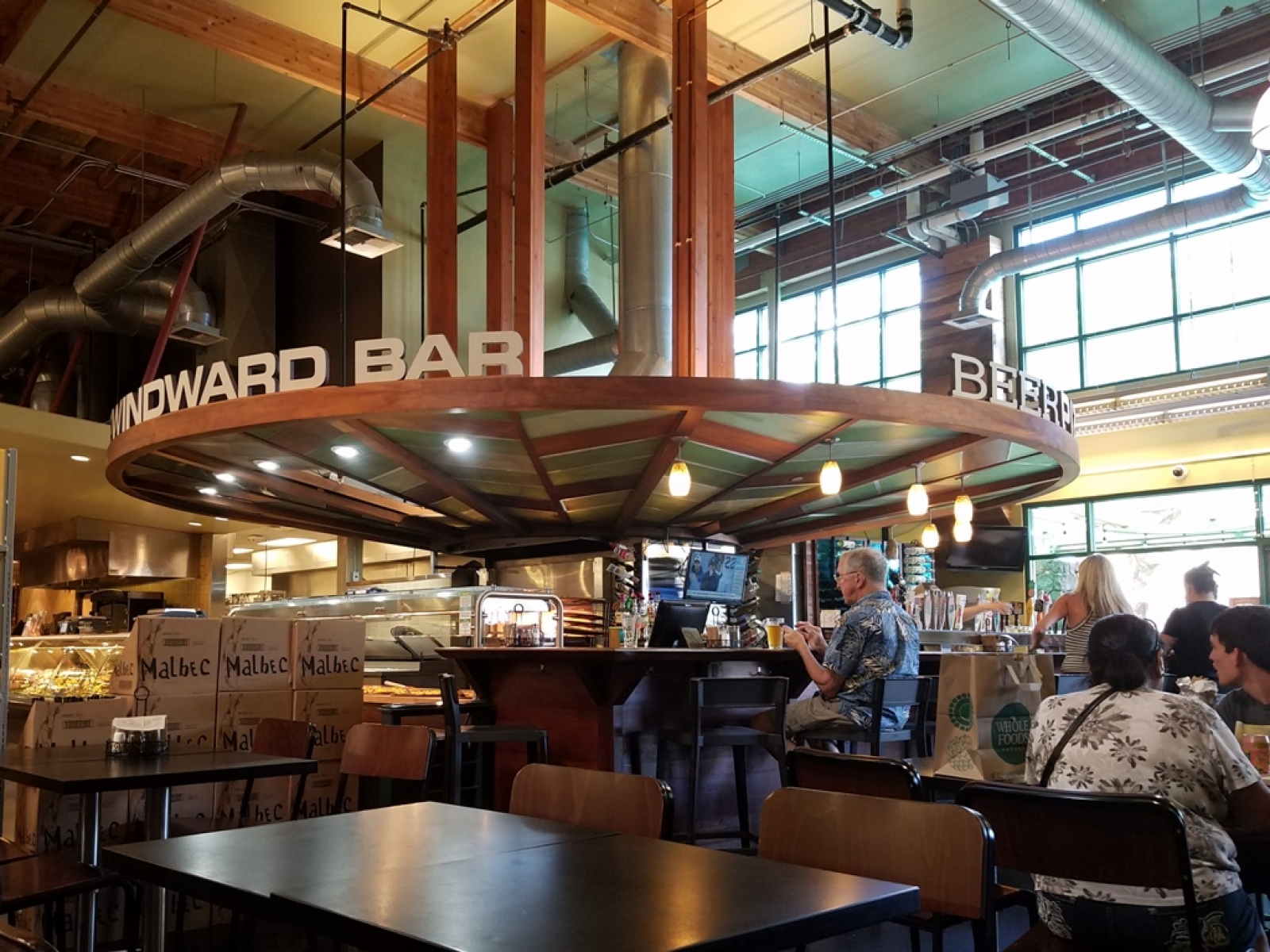 Windward Bar in Whole Foods